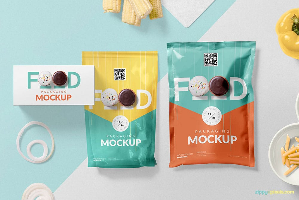 Download Download This Set of Food Packaging Mockup in PSD ...