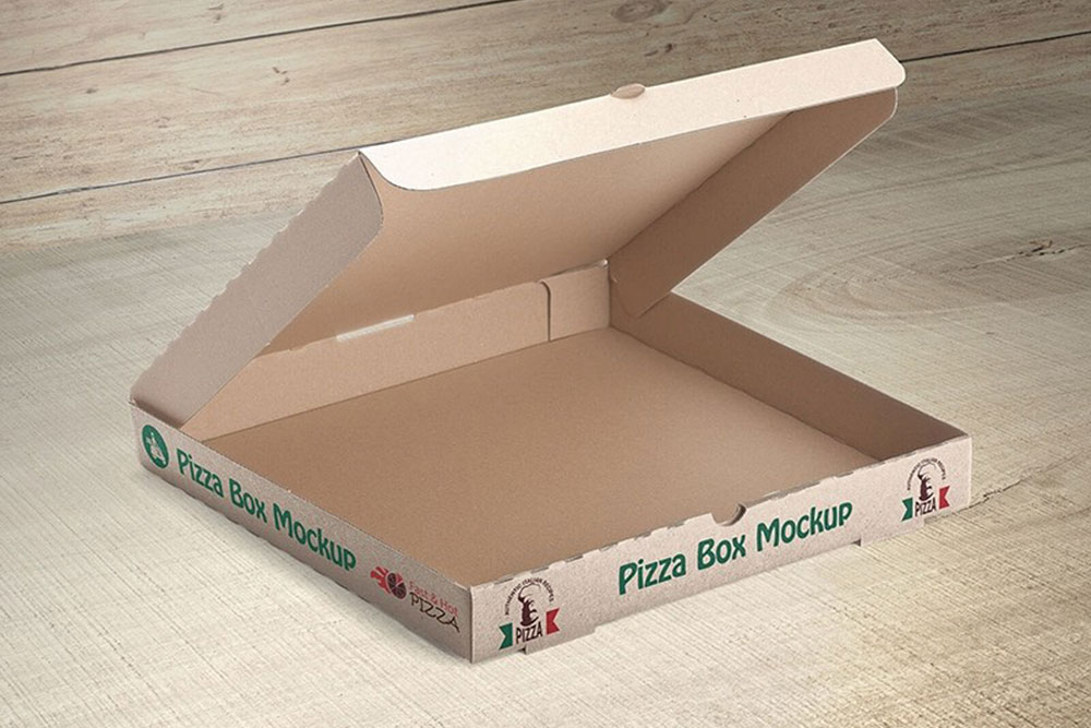 Download This Free Pizza Box Mockup in PSD - Designhooks