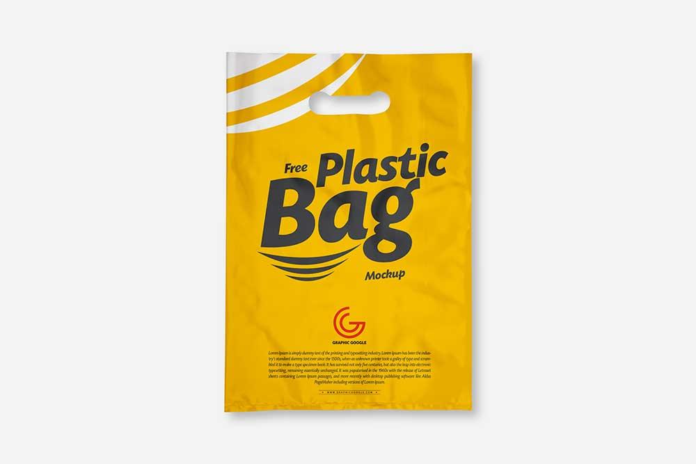 Download Free Download Plastic Bag Mockup in PSD - Designhooks