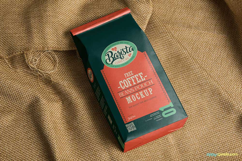 2150+ Free Mockup Packaging Coffee Branding Mockups File