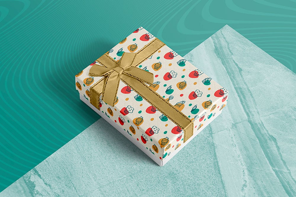 Download Download This Free Gift Box Mockup In PSD - Designhooks