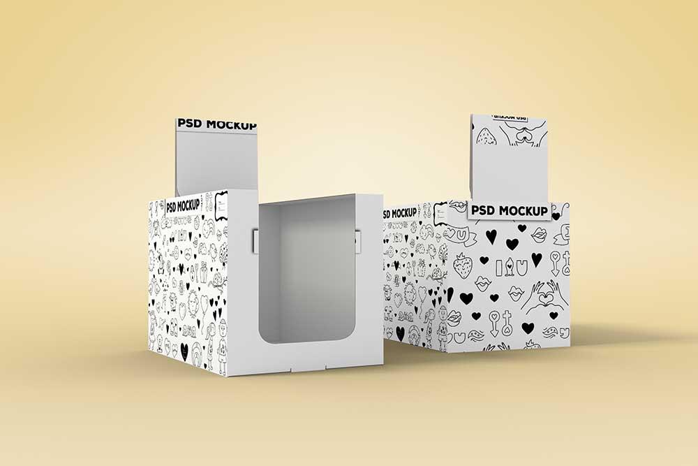 Download Download This Free Shelfbox Packaging Mockup - Designhooks