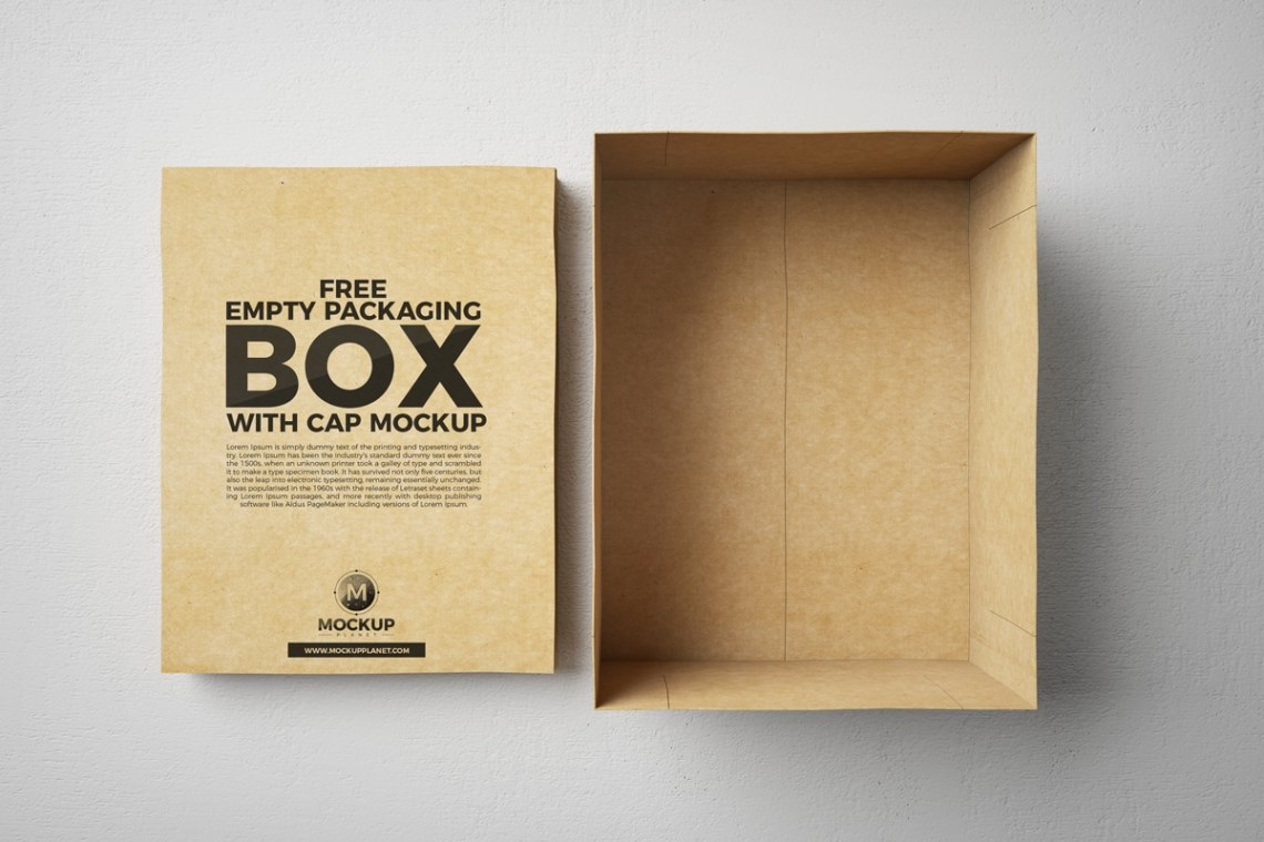 Download Packaging Box PSD Mockup Download for Free | DesignHooks