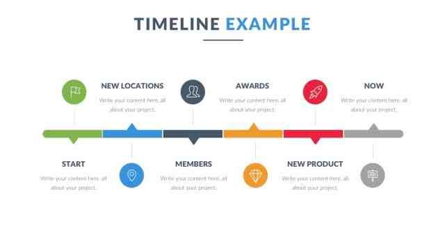 Timeline Keynote Template Download for Free - DesignHooks