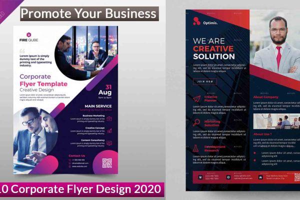 Promote Your Business Top 10 Corporate Flyer Design 2020 | DesignIdea4u