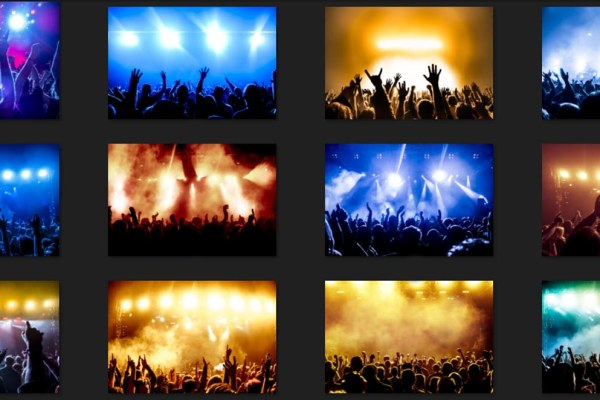 Cheering Crowd Rock Concert Images Free Download