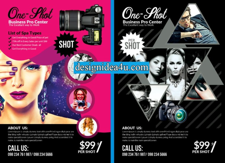 Top 10 Photography Flyer PSD Templates Free Download