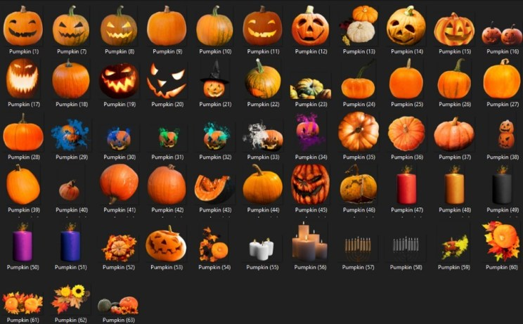 125 Halloween Photo Overlay Mega Pack Free Download