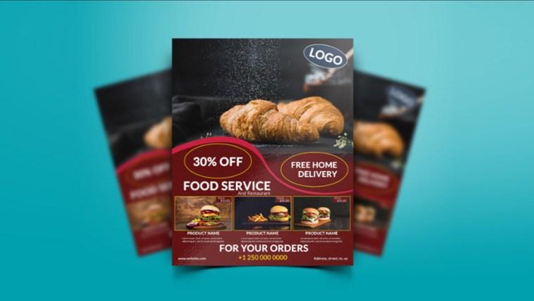 Best Free Restaurant & Food Flyer PSD Templates 2020