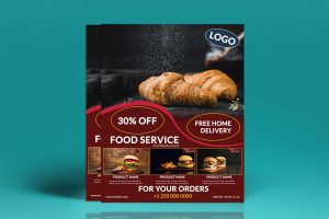 Best Free Restaurant & Food Flyer PSD Templates 2020