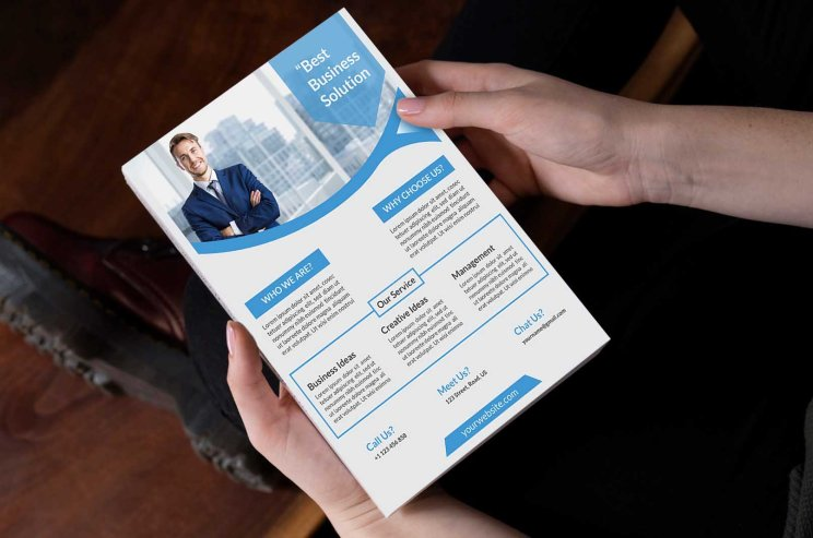 Download Customizable Business Flyer Template For Free