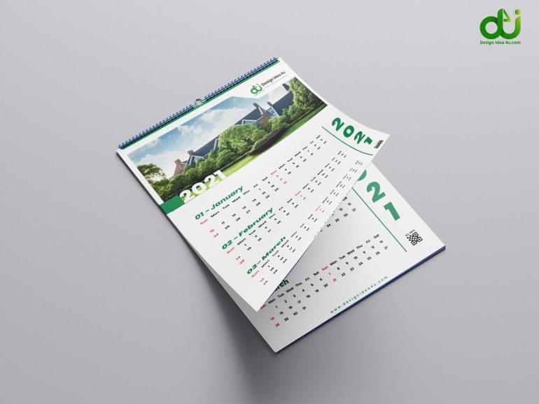 Calendar 2021 - Business wall calendars 2021