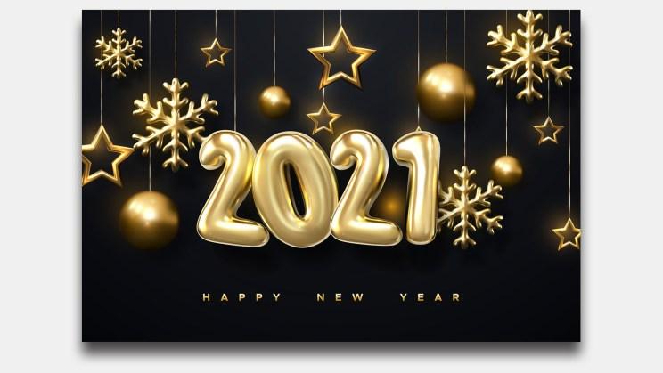 New Year 2021 Decorative