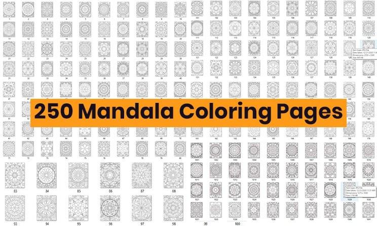 Mandala Coloring Pages Free Download