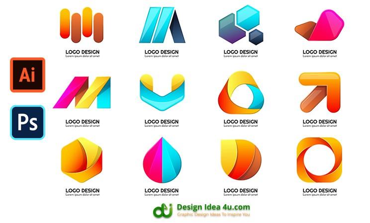 Modern Shape Logo Free Download