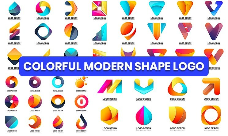 Modern Shape Logo