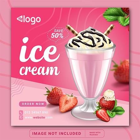 ice cream social media