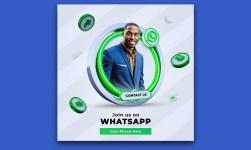 Whatsapp Social Media Square Banner