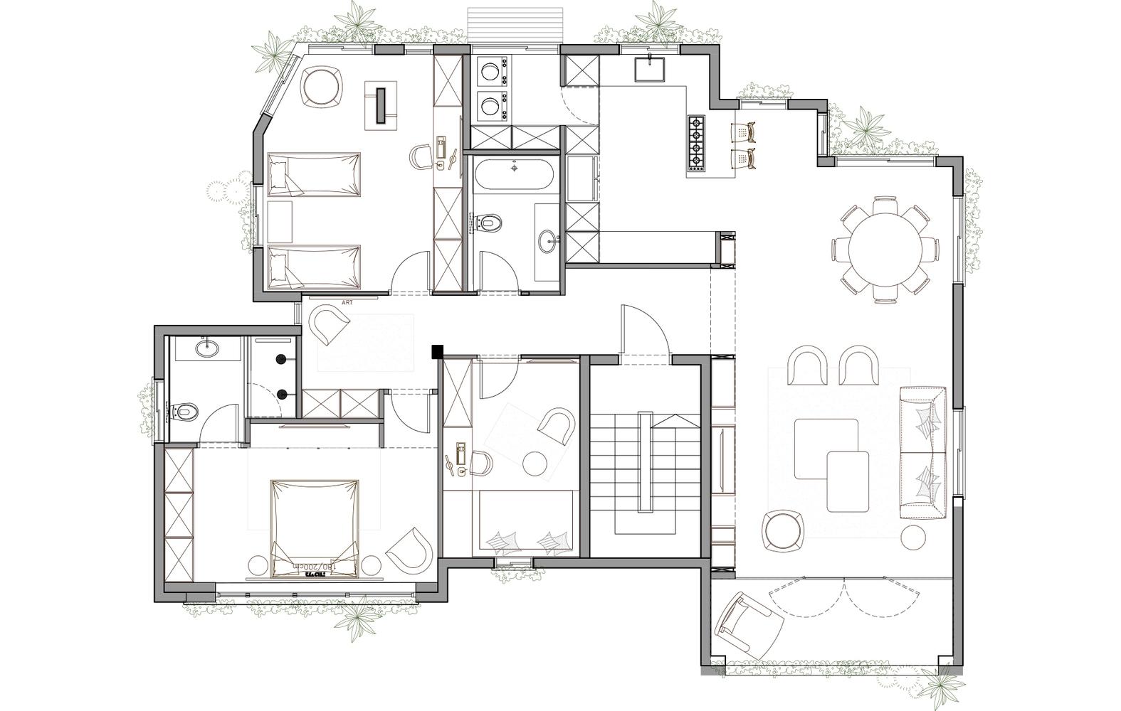 [單色的傳統美學] - NA House   DesignIDK