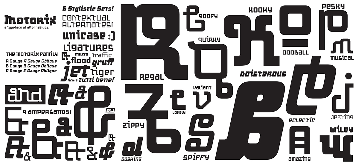 Variant Letterforms
