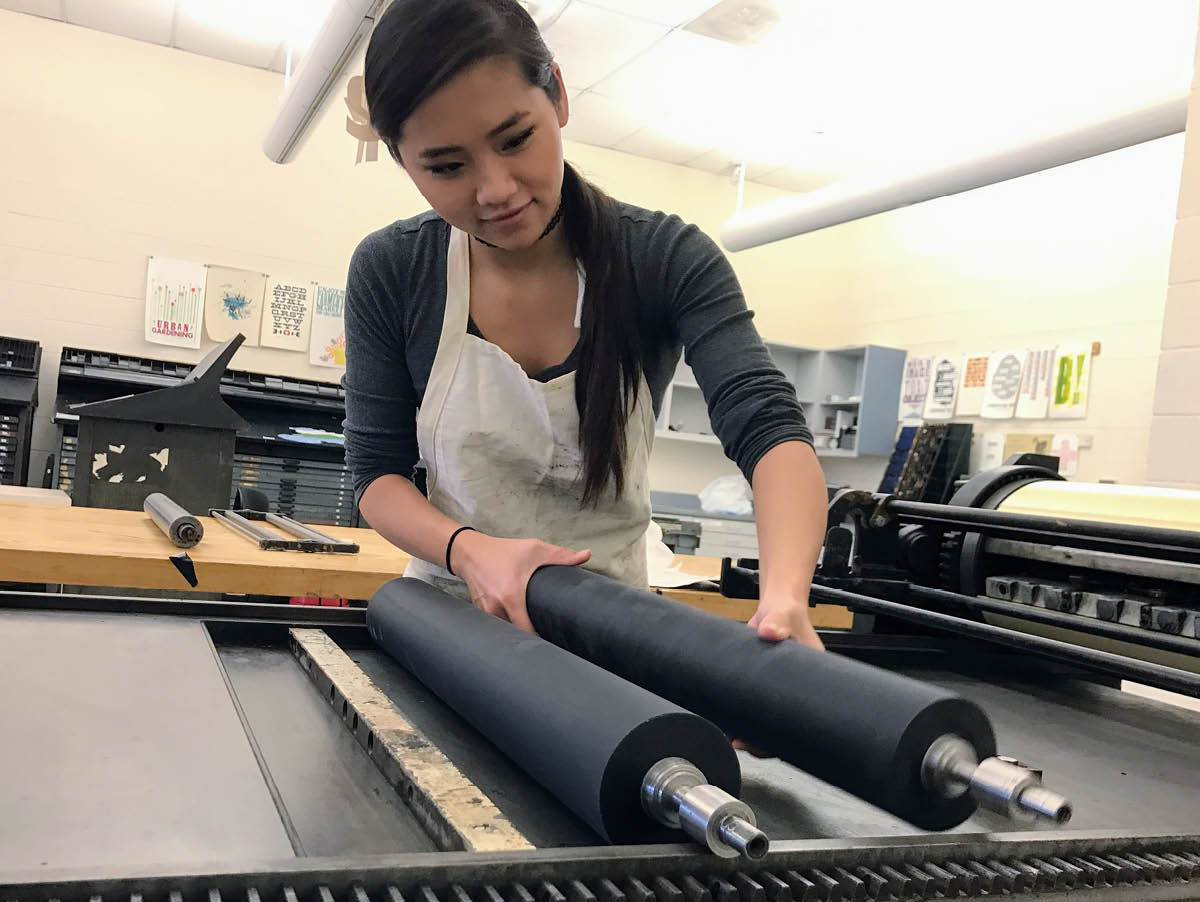 A Tool for Understanding: Giving Voice to Diverse, Non-traditional and Low-Income Students Through Teaching Letterpress Printing