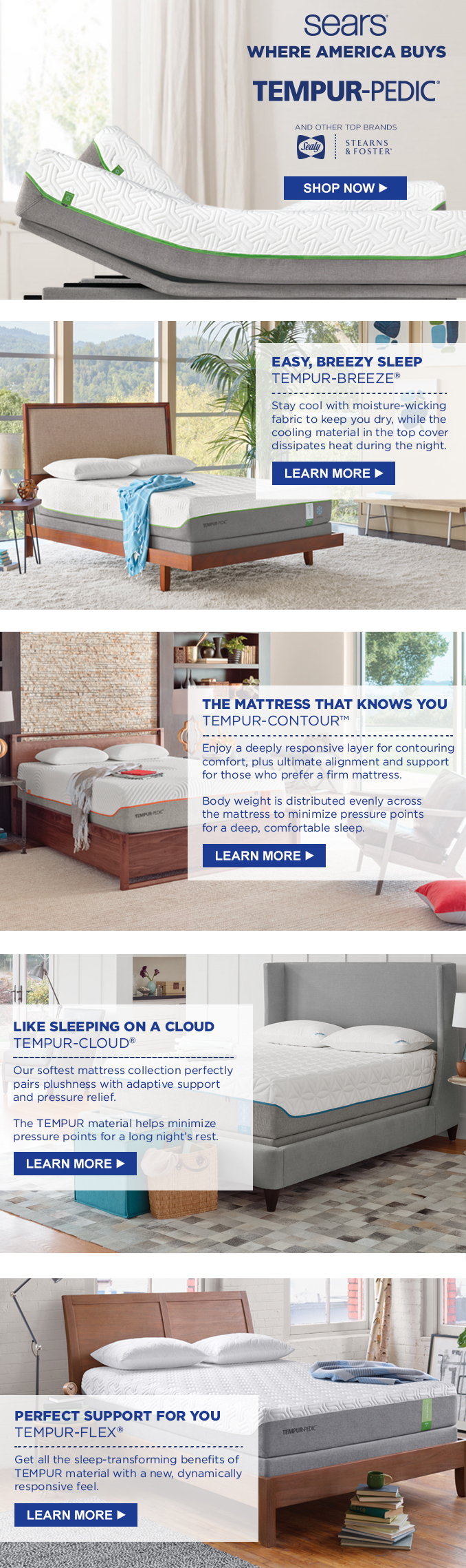Sears Mattress Email