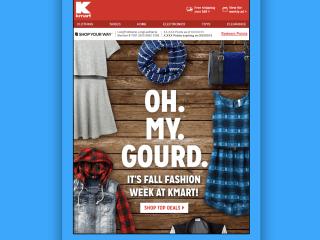 Kmart Seasonal Emails