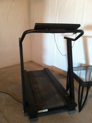 My OWN treadmill