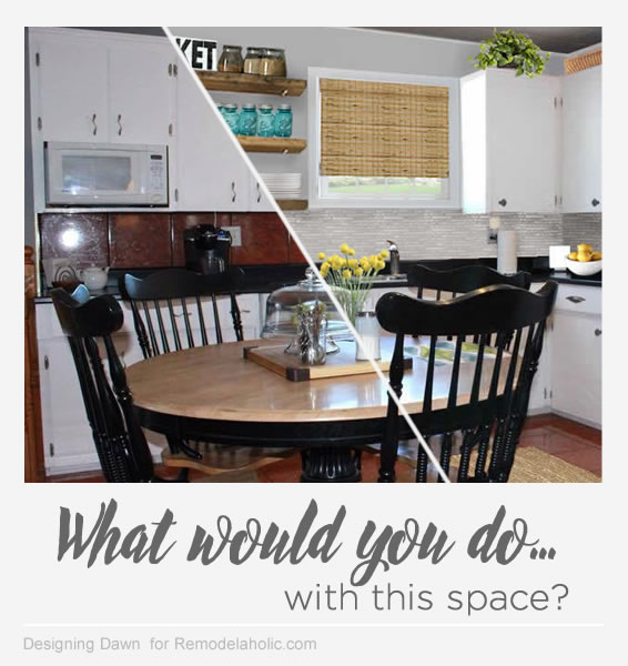 Kelli's kitchen mockup - Designing Dawn for Remodelaholic