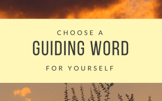 guiding word, productivity, self-help, inspiration, self talk