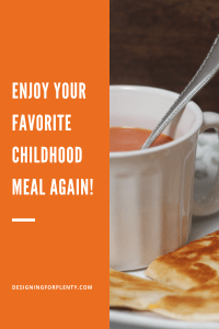 childhood meal, cooking, memories, comfort, favorite meal, memories