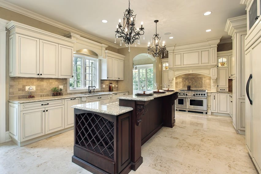Luxury Kitchen Ideas Counters Backsplash Amp Cabinets