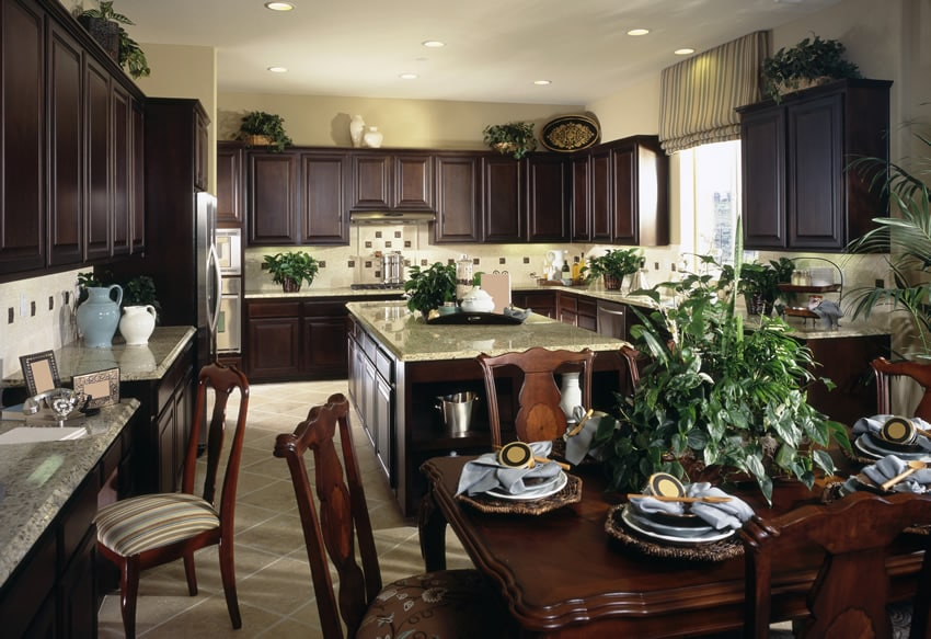 U Shaped Kitchens Designs