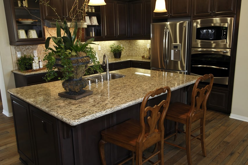 L Shaped Kitchen Island Seating