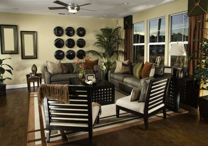This Meticulous Living Room Is Well Decorated And Organized Everything Has Its Place