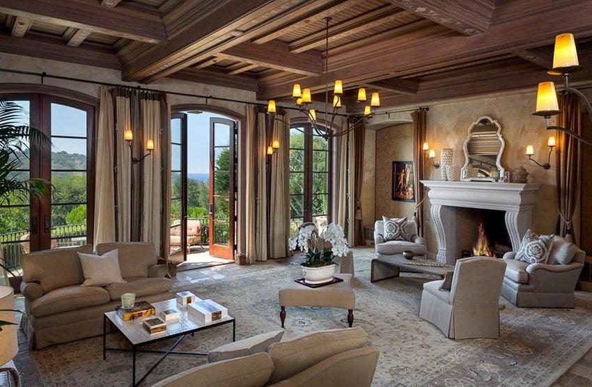 Luxury Tuscan Style Home Design Designing Idea