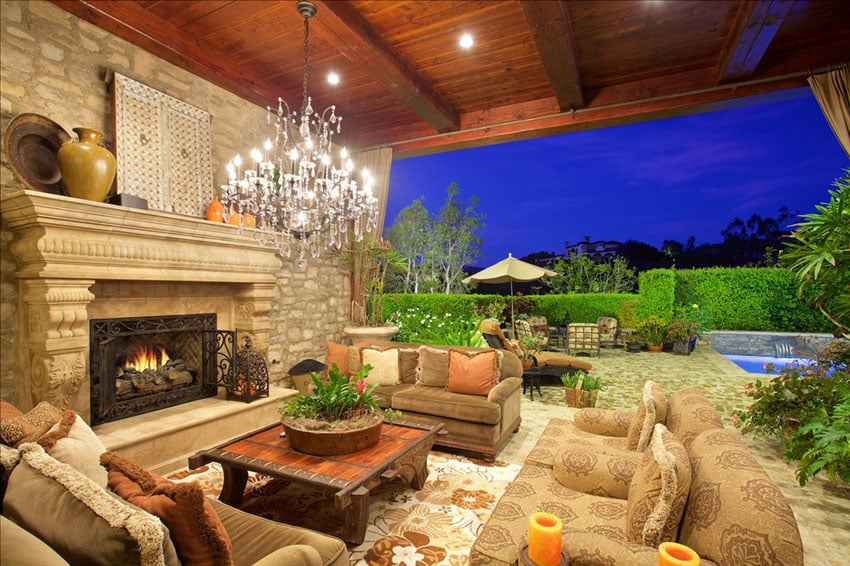 Luxury Tuscan Style House Interior Amp Exterior Pictures