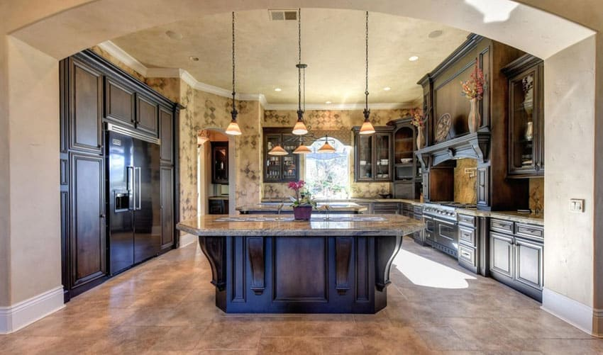 35 Luxury Mediterranean Kitchens Design Ideas