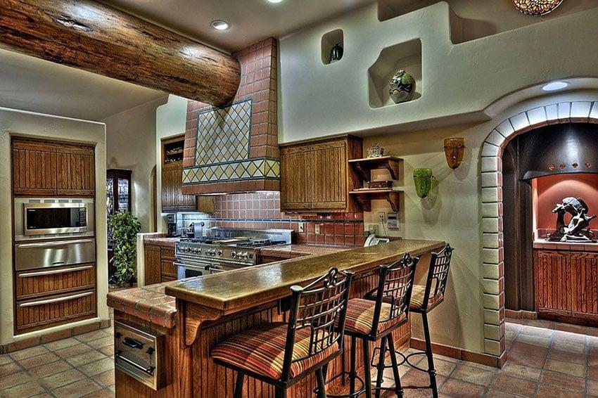 Spanish Style Kitchen Design