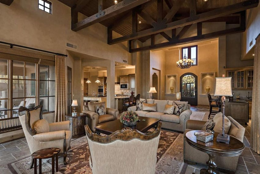 45 Beautifully Decorated Living Rooms Pictures