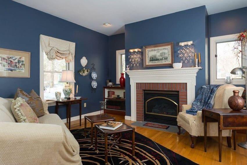 26 Blue Living Room Ideas (Interior Design Pictures