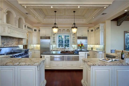 Large Galley Kitchen Layout