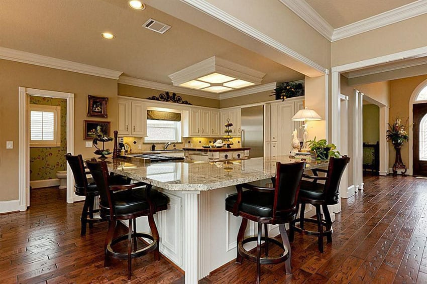 L Shaped Kitchen Designs Peninsula