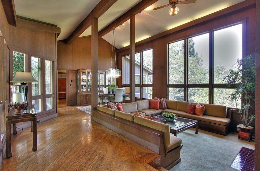 39 Gorgeous Sunken Living Room Ideas Designing Idea Part 62