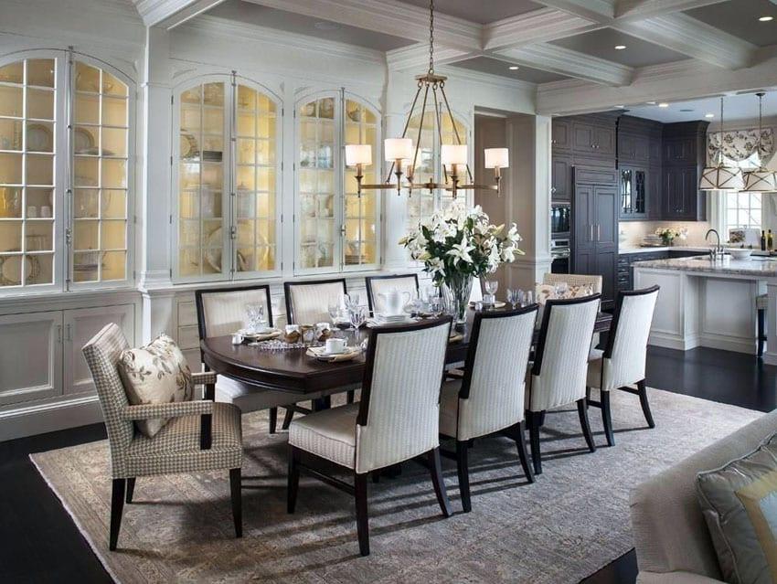 25 Formal Dining Room Ideas (Design Photos) - Designing Idea