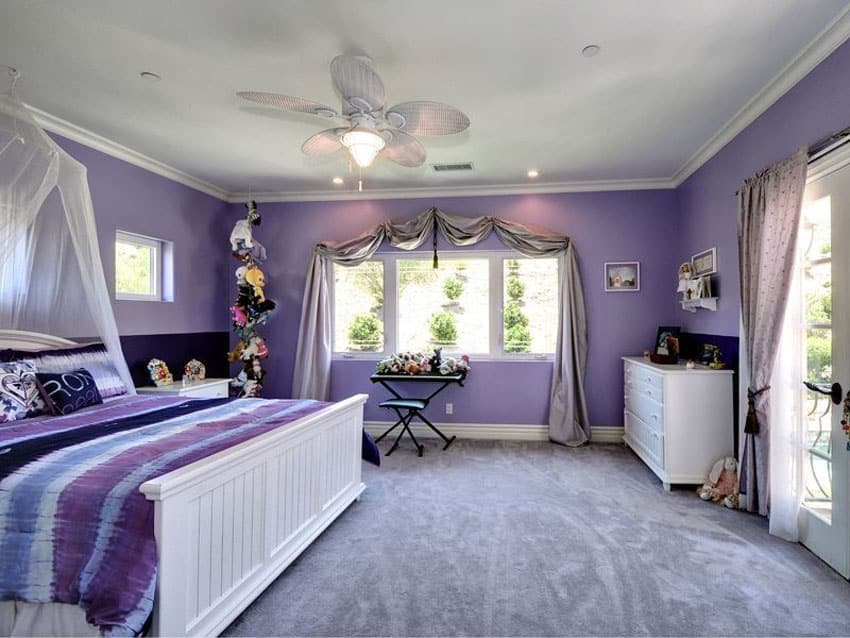 25 Gorgeous Purple Bedroom Ideas Designing Idea