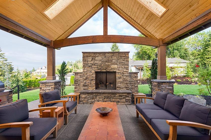 38 Beautiful Backyard Pavilion Ideas Design Pictures