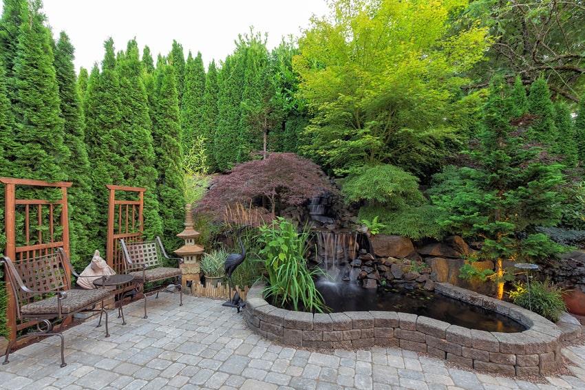 27 best patio water features design