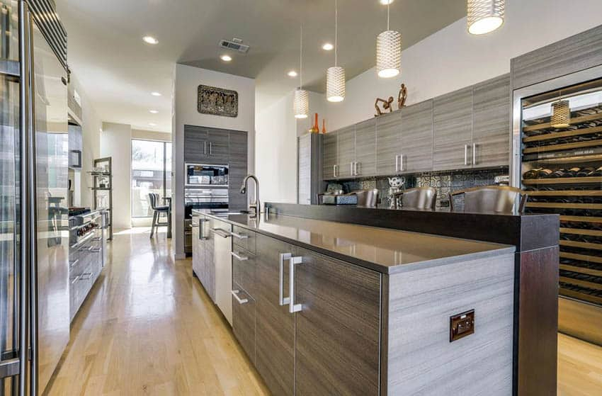 easy contemporary kitchen remodel 11
