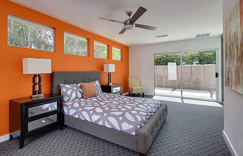 Master Bedroom Ideas Orange Novocom Top